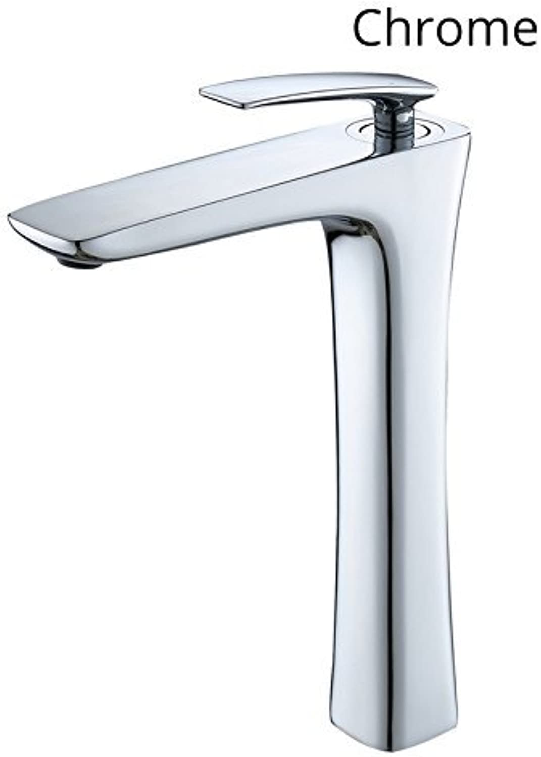 Bath Rooms, Glass wash Basin Mixer Chrome Brass Faucet Soild Buchan Fashion Style Multi color Bath Rooms, tap Water, Chrome