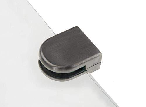 addys-onlinesale Edelstahl GLASHALTER (Edelstahl Rohr D= 42,4mm, 10-12mm)