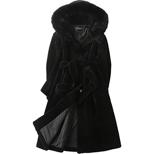 Huaishu Womens Hooded Warm Parkas Jassen Faux Bont Overjassen Bont Jassen