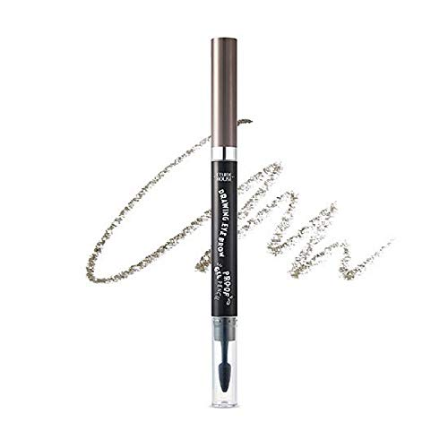 Etude House Drawing Eye Brow Proof Gel Pencil (#05 Grey Brown) | Waterproof Eyebrow Pencil | Natural Eyebrows that Last For a Long Time
