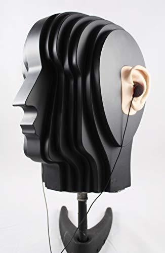 Kunskopf aus MDF gefertigt mit eingebauten OKM Studio Mikrofon