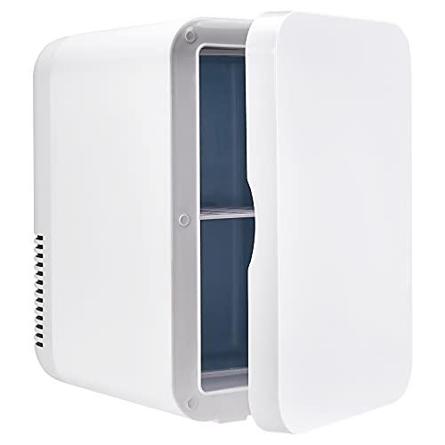 TTLIFE Mini frigorífico de 8 litros, regulable en frío y calor de bajo consumo bajos decibeles utilizado en coches o casas utilizado para almacenar jugos mascarillas faciales y cosméticos