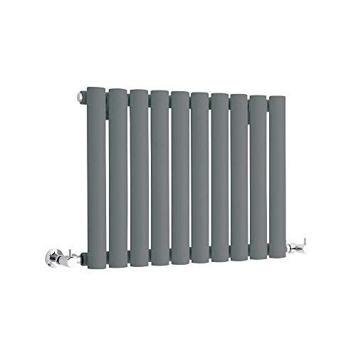 Hudson Reed Vitality – Radiateur Design Horizontal Compact – Anthracite – 40 x 59,5cm