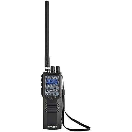 Cobra HH50WXST Hand Held CB Radio - Emergency Radio, Travel Essentials, Earphone Jack, 4 Watt, Noise Reduction & NOAA Alerts