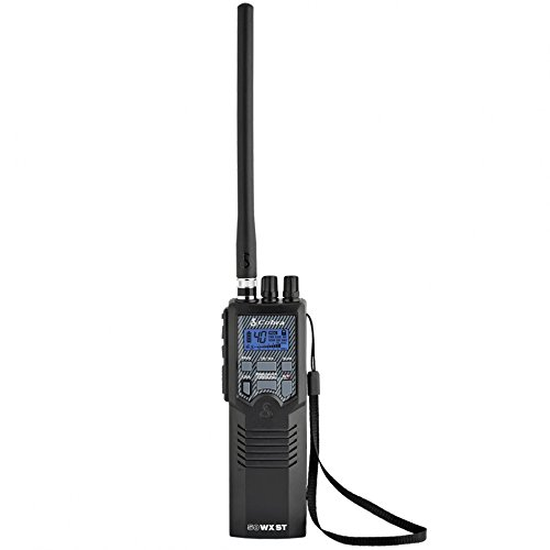 Cobra HH50WXST Hand Held CB Radio - Emergency Radio, Travel Essentials, Earphone Jack, 4 Watt, Noise Reduction & NOAA Alerts