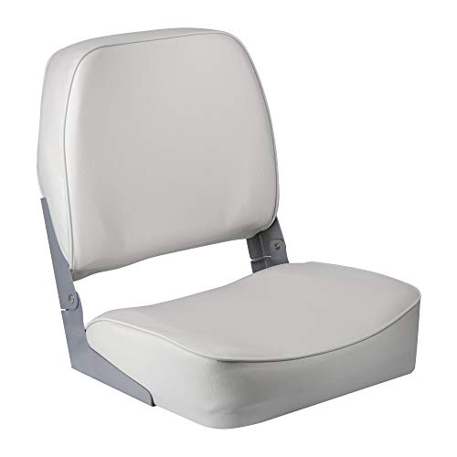 THE WISE COMPANY, INC. Wise 3313-710 Super Value Series Low Back Boat Seat, White