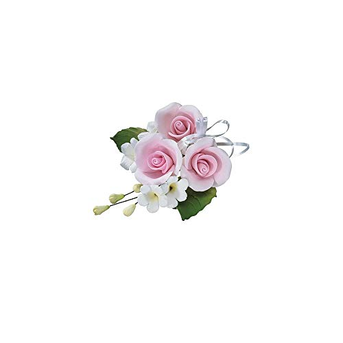 Decoración para tarta de boda, color rosa claro