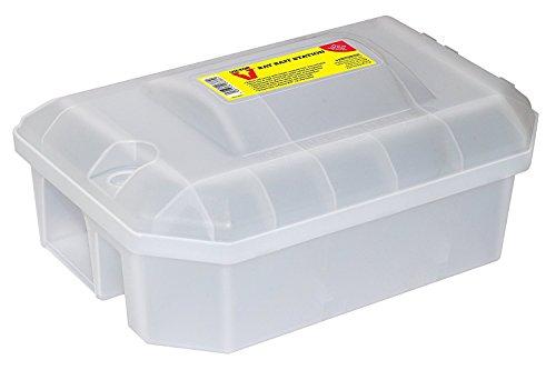 Preisvergleich Produktbild Victor Verschließbare Ratten-Köderstation - Geschlossene Köderbox zur Sicheren Verwendung von Rattengift sowie Einsetzbar mit Rattenschlagfalle zum Schutz Ihrer Kinder und Haustiere - Mod. M930U