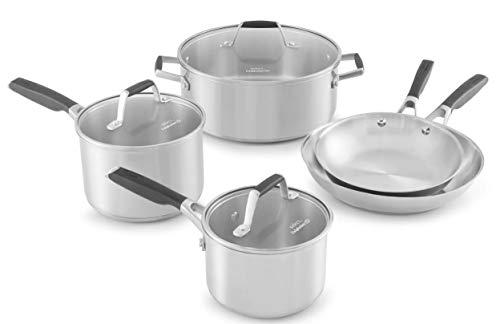Calphalon Select Stainless Steel, 8 Piece Set