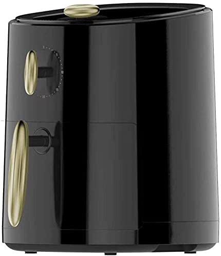 Freidora Home Air Fryer de 1000 W con tecnología Rapid Air para una cocción sana, sin aceite y sin grasas (color negro)