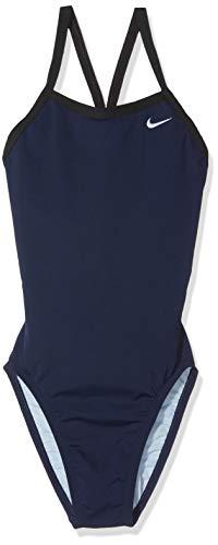 Nike Tfss0082-440 Competition Badeanzug, Mädchen M blau