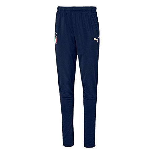 PUMA Herren FIGC Training Pant w.z/p Jogginghose, Peacoat Team Gold, M