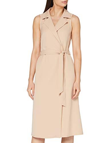 Dorothy Perkins Damen Camel Tux Belted Pencil Dress Lässiges Kleid, 38