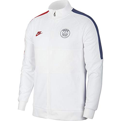 Nike Paris Saint-Germain Herrenjacke PSG XL weiß/weiß/rot