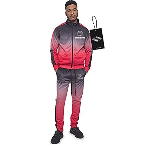 BOYASI de Los Hombres Chandal Conjunto Trotar Traje Ni.S_San Hooded Zipper Chaqueta + Pantalones Capucha Baloncesto Ropa Niños/pink/XXXL