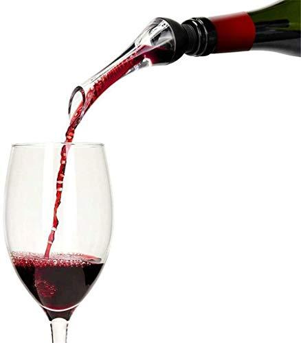 AMOYEE Viernes de Vino Aeroador, Viernes de Vino oxigenante, Freno de Goteo Freativo, Fast Decanter Premium Airating Spout