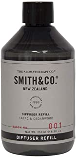 アロマセラピーカンパニー(Aromatherapy Company) Smith&Co. スミスアンドコー Diffuser Refill ディフューザーリフィル(詰め替え用) TABAC & CEDARWOOD タバック&シダーウッド 〇サイ...