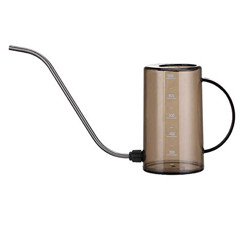 Lege Plastic Spray flessen 1L Multi-toepassingen nevelflessen Sprinkler Long Mouth Design For tuinieren, bloem, Cleaning Solutions, 3 verschillende kleuren (Color : Brown)