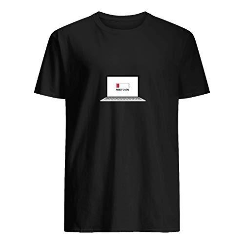 Leet Group - Camiseta para desarrolladores de batería baja