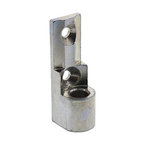 Siegenia Ecklager für Aluminium Fenster stumpfe Variante | silber verzinkt | ToniTec® Reproduktion | Nachbau | haltbarer und verschleißfester als das Original