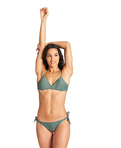 ARENA Damen Solid Triangle Two Piece Swimsuit, Army-army, 44 EU