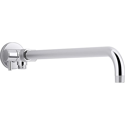 Kohler K-76332-CP Wall-Mount Rainhead Arm with 3-Way Diverter