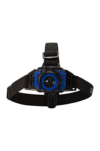Mountain Warehouse Extreme CREE USB Head Torch - 5 Hours Run Time - For Camping, Hiking, Cycling Black