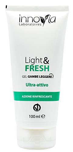 Crema Gel Rinfrescante per Gambe Pesanti - Ideale per una sensazione di Leggerezza e Sollievo - Ha un Effetto Freddo Immediato che stimola la Circolazione ed ha un Azione Anticellulite - Made in Italy