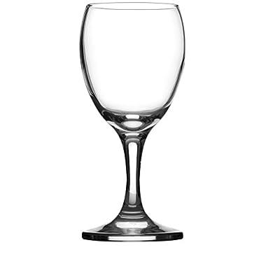 Circleware 44551 Hudson Market Wine Glasses, Set Of 4, 11.25 Oz, Hudson 11.25 Oz.