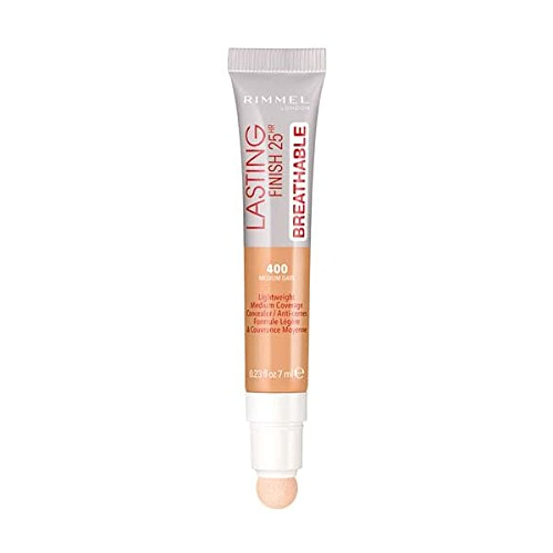 かもめサービス上級(3 Pack) RIMMEL LONDON Lasting Finish Breathable Concealer - Medium Dark (並行輸入品)
