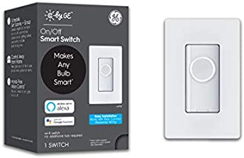 C by GE 3-Wire On/Off Button Style Smart Switch