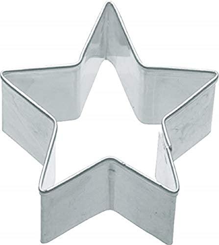 "KC BLUE Kitchen Craft Metal Cookie Cutter - Small Star, 4cm (1.5"")"