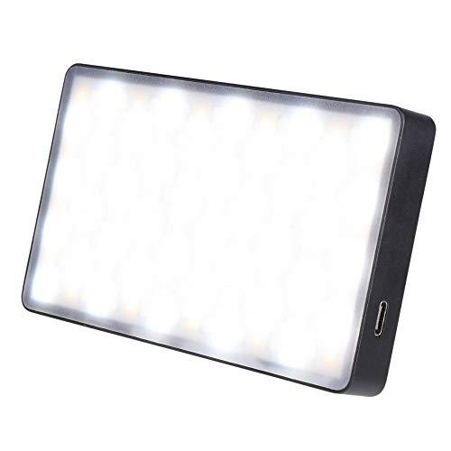 Rollei Lumen Pocket RGB LED Photo Light I 12W LED Video Light in formato Smartphone I CRI 95+, 3000K-6500K, custodia in alluminio, incl. adattatore per scarpa calda