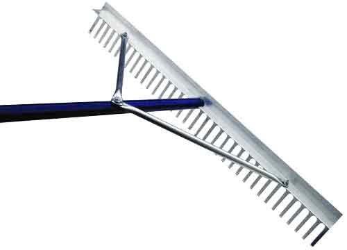 Bon Tool 84-213 Yard Prep Rake - 24' - 72' Alum Handle