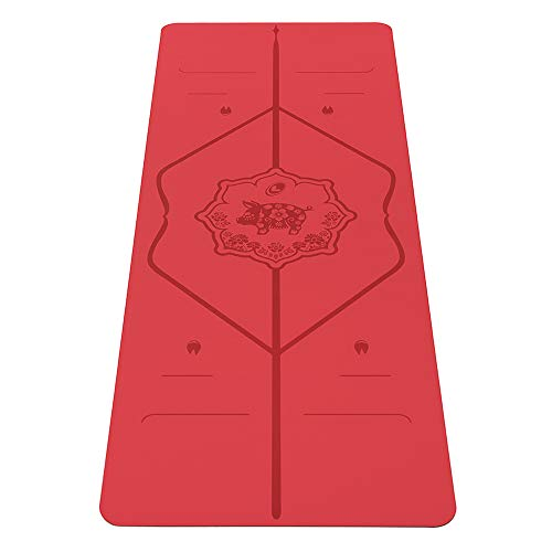 professional Liforme – Pig Yoga Mat – Patented Leveling System, Marshall Grip, Slip Protection,…
