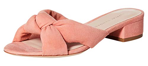 Loeffler Randall Womens Elsie Suede Slide Sandals Pink US 6 Medium (B,M)