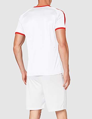 PUMA LIGA Jersey T-Shirt - White/Red, Large