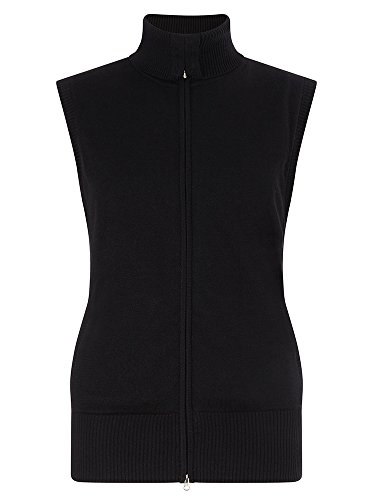 Callaway Merino Windstopper Vest Gilet de Golf Femme, Noir, XL