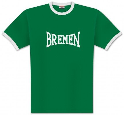 World of Football Ringer T-Shirt lons Bremen - 164