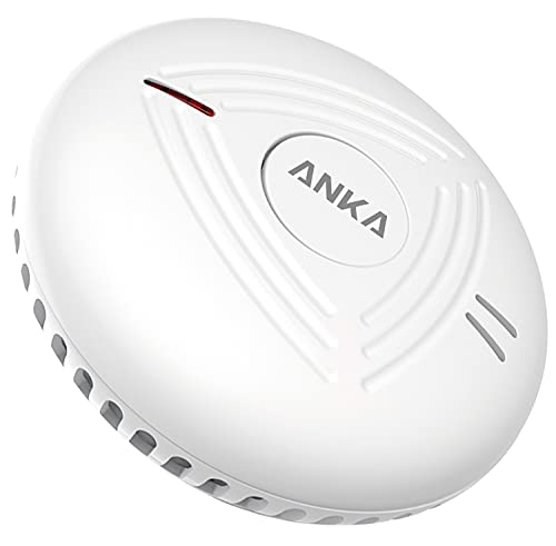 ANKA Smoke Alarm,10-Year Battery Smoke Detector, Photoelectric Fire Smoke...