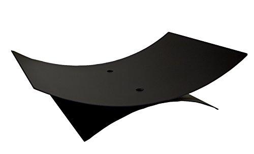 Imex El Zorro 10154 Porte-bûches ovale Noir 56 x 40 x 14 cm