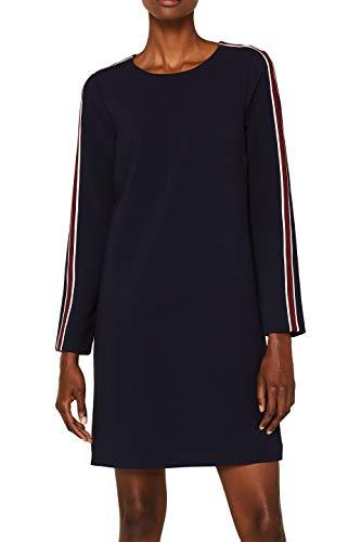 ESPRIT Damen 099EE1E023 Kleid, 400/NAVY, (Herstellergröße: 36)