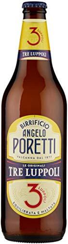 Poretti Set 15 Birra 3 Luppoli 66Cl Bevanda Alcolica da Tavola, Multicolore, Unica