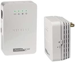 NETGEAR - NETGEAR Powerline XAVNB2001 - Bridge - HomePlug AV (HPAV) - 802.11b/g/n - wall-pluggable