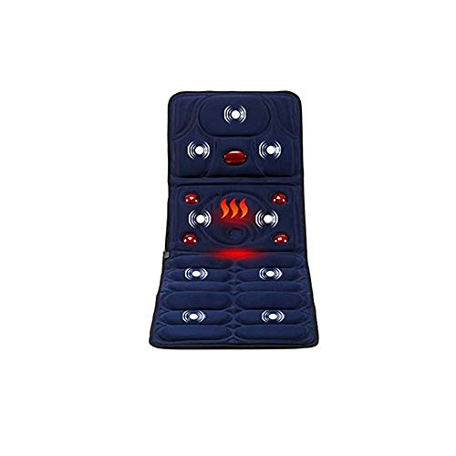 Multi-Functie Shiatsu Massage Mat, Full-Body Massage Matras, Elektrische Verwarming Met Massage Coaches Voor Stoelkussen Dekking Voor Soothing Body