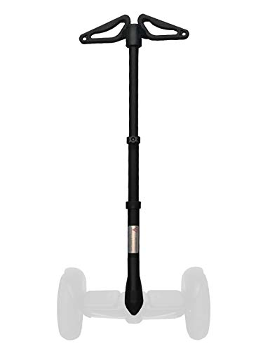 Adjustable Handlebar for Segway miniPRO miniLITE accessory, Release Knee Pressure, Multi-Function Retractable 2-in-1 Kit Handle Bar Easy Installation (Segway not included)