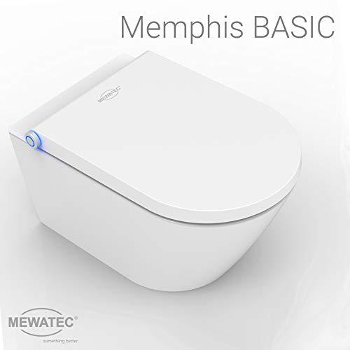 MEWATEC Marken Dusch-WC Komplettanlage Memphis Basic wandhängend - Preis-Leistungs-Sieger