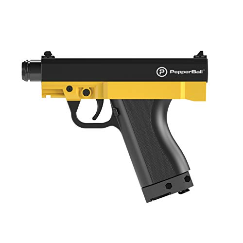 PepperBall TCP Personal Defense Launcher, Non-Lethal Semi-Automatic Tactical Combat Pistol, Police...