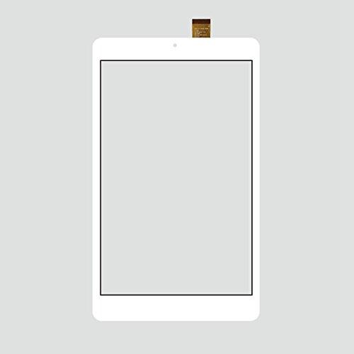 EUTOPING Bianco Colore Nuovo di Zecca 8 Centimetro Touch Screen del digitizer La Sostituzione per 8