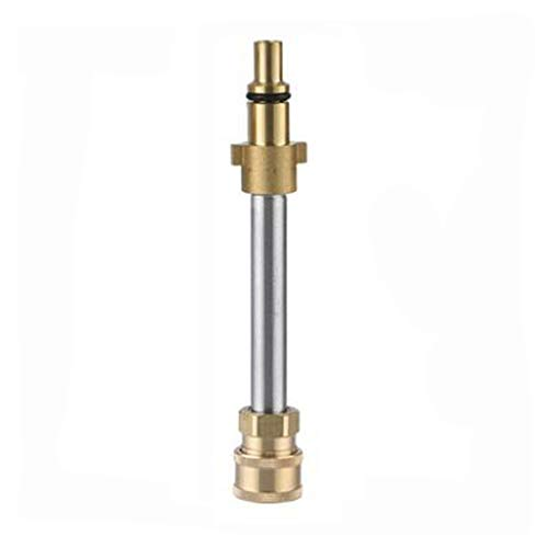 Adapter für Hochdruckreinigerpistole, Sprühstabkupplungen für Hochdruckreiniger, eine 1/4 '' Buchse für die Schnellkupplung, die andere Seite ist ein Nilfisk-Stecker vom alten Typ